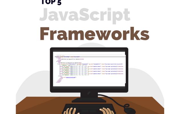 Top 5 JavaScript Frameworks in 2017 main