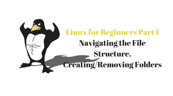 Linux for Beginners Part 1 Navigating the File Structure, Creating Removing Folders Main Logo