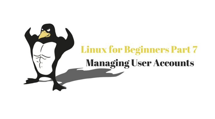 LINUX FOR BEGINNERS PART 7 Main LOGO