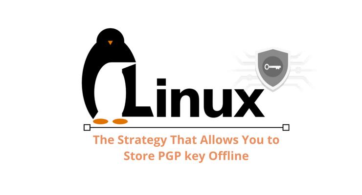 Linux PGP Keys OfLine Main Logo