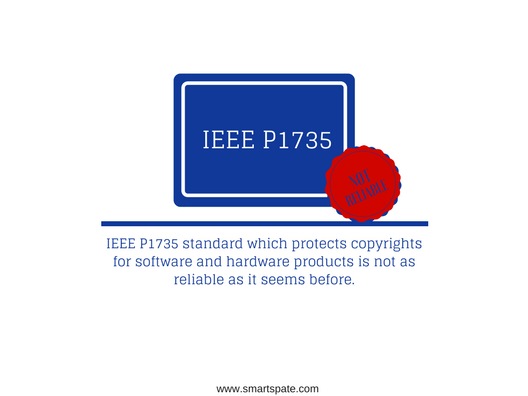 IEEE P1735 standard is not as reliable as it seems before