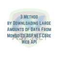 3 Method by Downloading Large Amounts of Data main logo