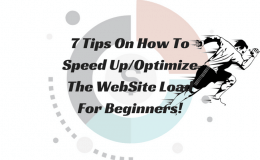 7 Tips On How To Speed UpOptimize The WebSite Main Logo