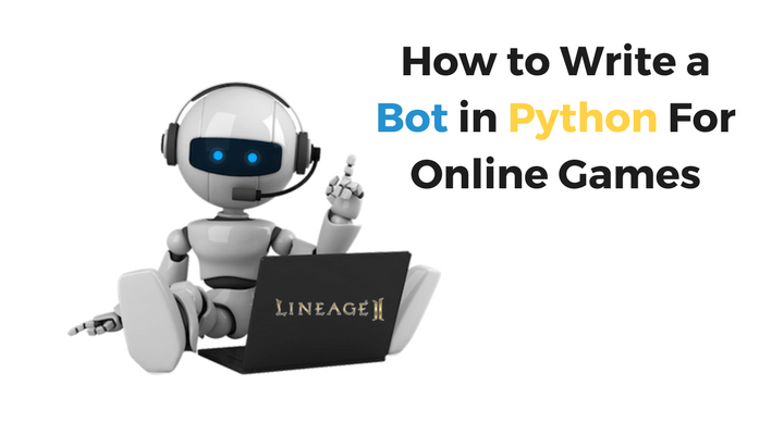 Bot in Python For Online Games Main Logo