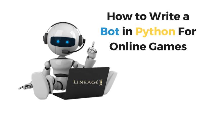 Bot in Python For Online Games Main Logo