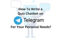 Chatbot On Telegram Main Logo