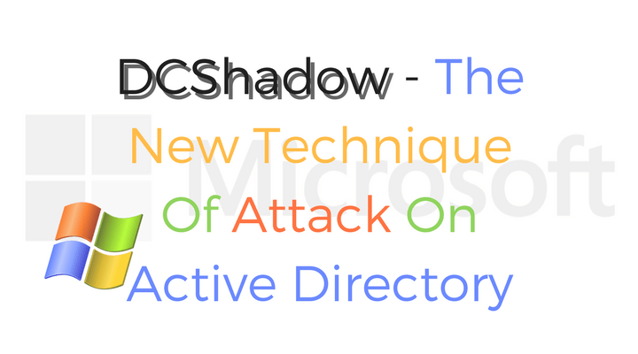 DCShadow Main Logo
