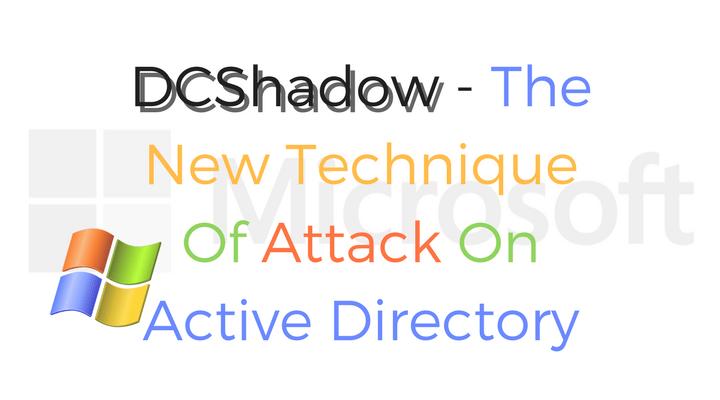 DCShadow Main Logo