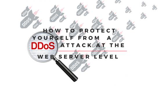 DDoS Attack At The Web Server Level Main Logo