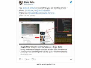 Miner Monero Founded Inside Of YouTub 4