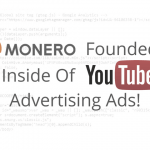 Miner Monero Founded Inside Of YouTube Main Logo