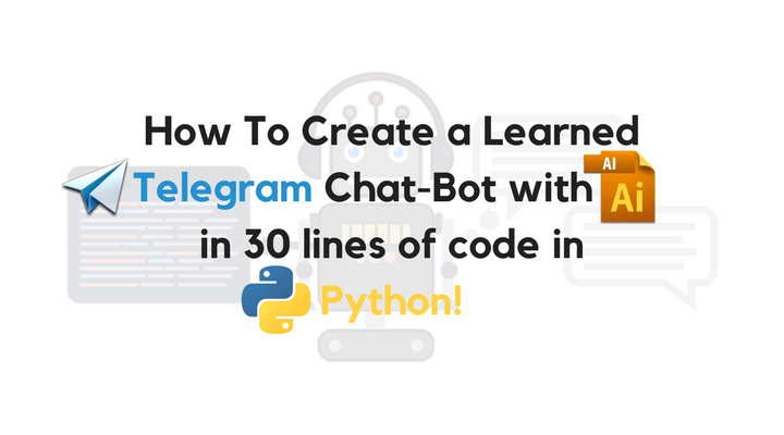 Telegram chat-bot with AI