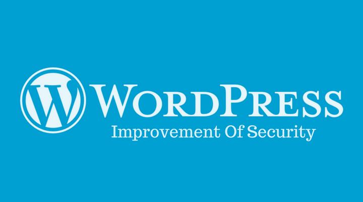 Improvement Security OF WordPress