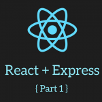 React + Express Main Logo Part 1