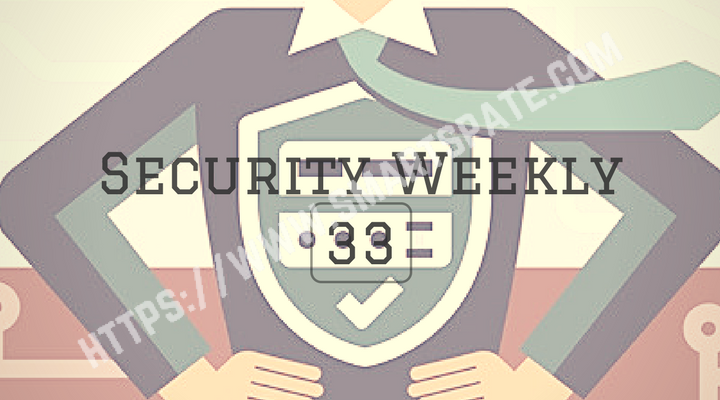 Security Weekly 33 Main Logo