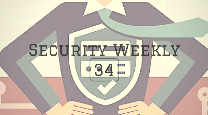 Security Weekly 34 Main Logo