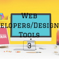 Web Developers Front Designers Tools 3