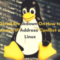 IP Address Conflict on Linux Main Logo
