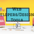 Web DevelopersDesigners Tools 7 Main Log