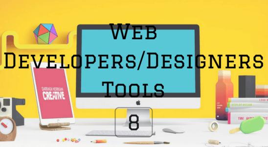 Web Developers_FDesigners Tools 8 Main Logo