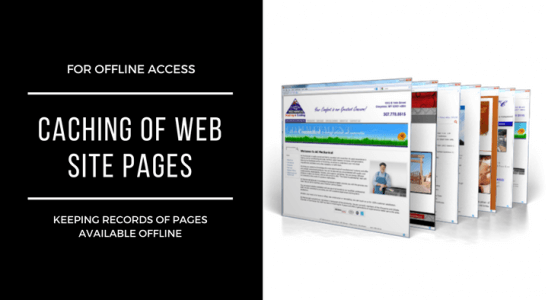 How To Create Caching Of Web Site Pages For Offline Access Main Logo