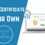 SSL Certificate In 15 Minutes Main Logo