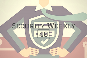 Security Weekly 40 Main Logo