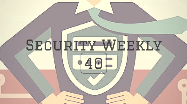 Security Weekly 40 Main Logo