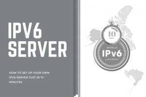YOUR OWN IPV6 SERVER JUST IN 10 MINUTES Main Logo