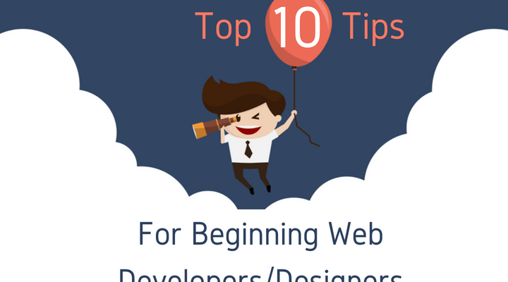 Top 10 Tips For Beginning Web DevelopersDesigners Main Logo
