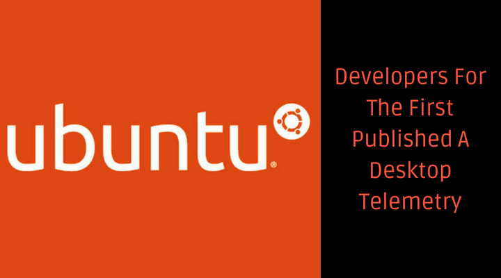 Developers Of Ubuntu First Published A Desktop Telemetry Main Logo