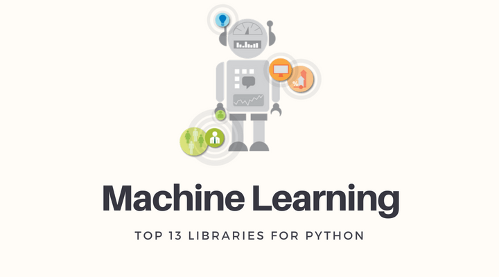 Top 13 Libraries For Machine Learning on Python Main Logo
