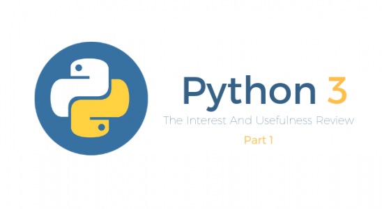 The Interest And Usefulness Review Of Python 3 Main Logo