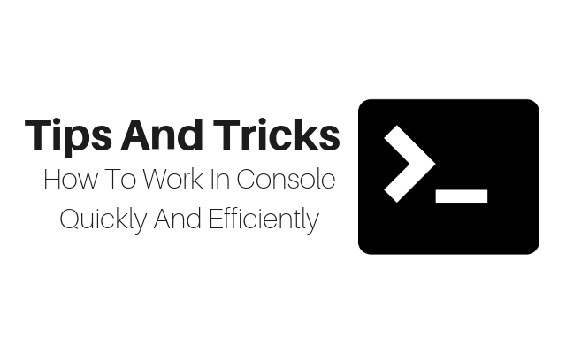 Console Quickly And Efficiently Main Logo