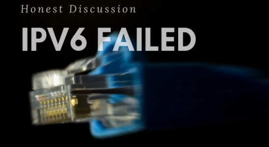 IPv6 Failed Main Logo